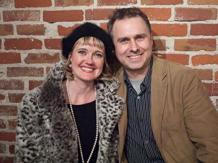 Kimberly Wilson and Tim Mooney