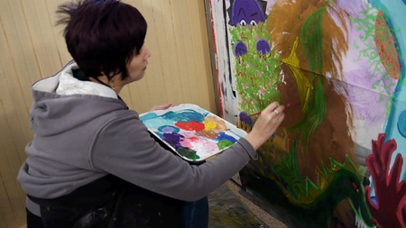 Intuitive Painting Playshop with Jennifer Lee