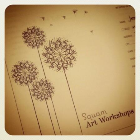 Squam Art Workshops Fall 2011