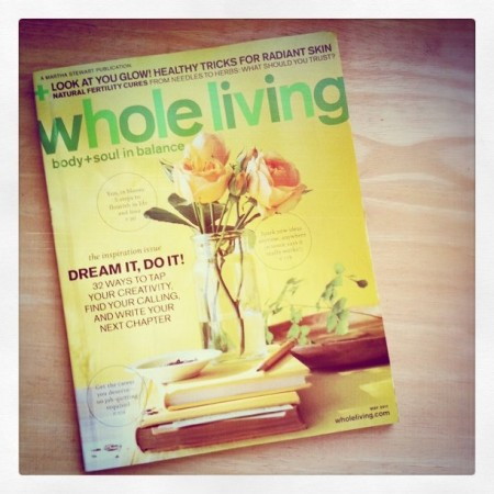 Whole Living May 2011 Issue