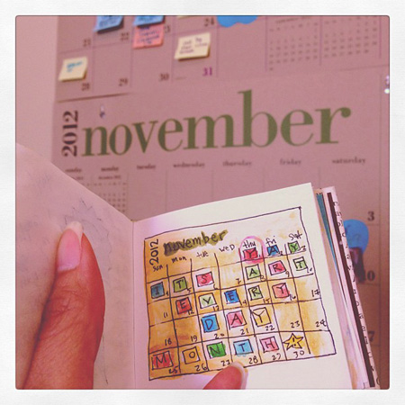 Art Every Day Month November 2012 Day 1
